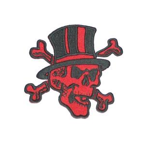 Aufnäher Rockabilly Crossbone Skull