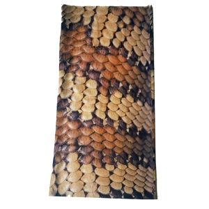 Bandana Multifunktionstuch Schlangenhaut Muster