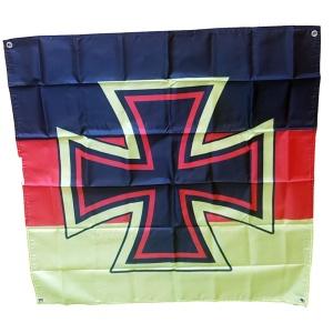 Fahne Deutschland Kreuz