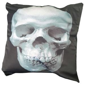 Kissenhülle Schädel Skull