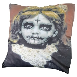 Kissenhülle Zombie Mädchen