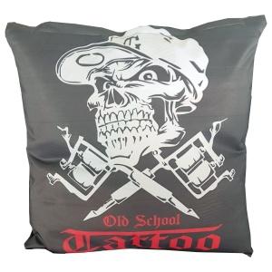 Kissenhülle Tattoo Skull