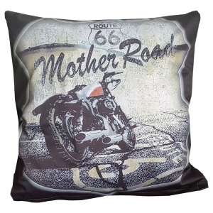 Kissenhülle Biker Route 66 Mother Road