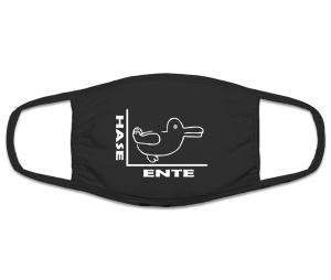 Mund Nasenschutz Hase Ente
