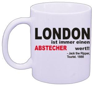 Tasse London Jack the Ripper