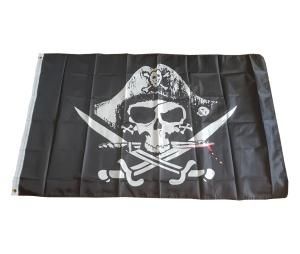 Fahne Piratenmotiv Cpt Jack