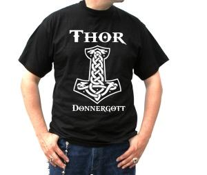 T-Shirt Thor Donnergott