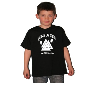 Kinder Shirt Sons of Odin Walhalla