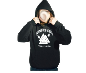 Kapusweatshirt Sons of Odin Walhalla