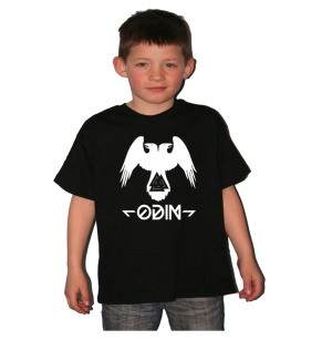 Kinder Shirt Odin