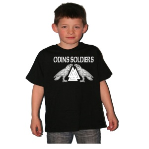 Kinder Shirt Odins Soldiers