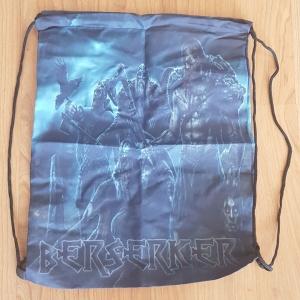 Rucksack Stringbag Berserker Wikingermotiv