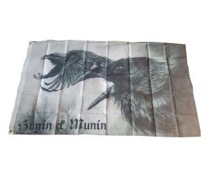 Fahne Wikinger Hugin Munin