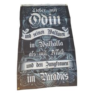 Fahne Wikinger Odin Paradies